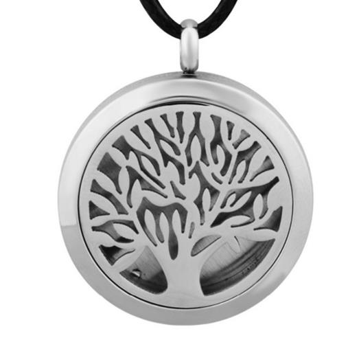Essential oil diffuser pendant stainless steel i want well being essential oil diffuser pendant stainless steel mozeypictures Gallery
